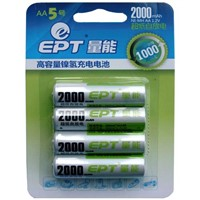 Ni-Mh Low Self-discharge   AA 2000mAH Battery