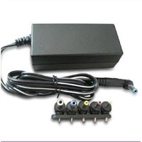 Notebook/Laptop AC Adapter, 12 to 24V Output, One Set Multi-connector Can Match with All Laptops