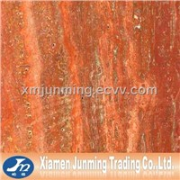On-sale Red Travertine marble slab tile