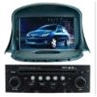PEUGEOT 206  CAR DVD PLAYER