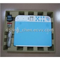 Pointing reading machine pulp tray