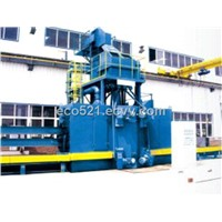 QH69 Series for H-shaped steel Shot blasting machine
