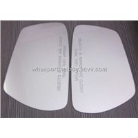 Rear view mirror plate