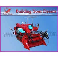 Rice combine harvester, combine harvester, rice harvester, rice milling