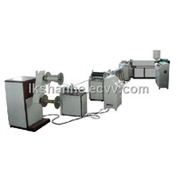 SH knotless net extrusion line
