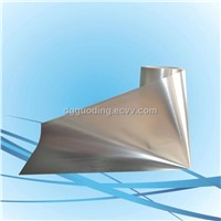 Silver compound layer stainless steel films
