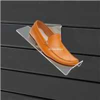 Slat Wall Shoes Display Tray and Holder