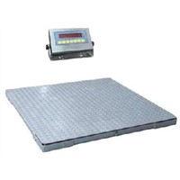Small table double-layer electronic weighbridge