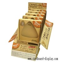 Snacks carton counter display box