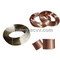 Solderable polyurethane enameled coating copper wire