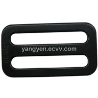 Steel car safety belt buckle