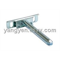 Steel shelf support zinc plated