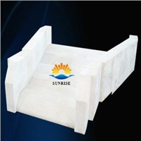 Supply fused cast AZS refractory block with high quality and competitive price