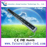 Supply high-quality waterproof IP65 12LED 3 in 1 rgb led wall washer