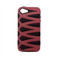 TPU + PC Case for iPhone, Fish Bone Pattern, Anti-dust and Durable, Available in 8 Colors