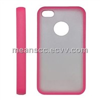 TPU + PC Cases for iPhone 4S, Anti-dust, Protects from Scratches, Durable