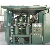 TY Vacuum turbine oil regeneration oil purifier/oil filtration