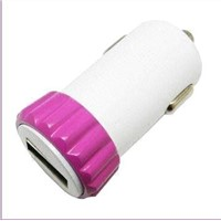 USB Car Charger for iPhone and Smartphone with 5V, 1A Output