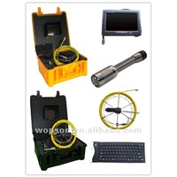 Video inspection pipe inspection equipment for drains and sewers