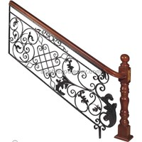 WROUGHT IRON STAIRICASE HT-9T003