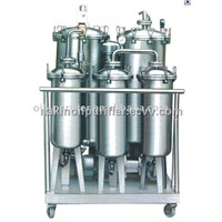 Waste cooking oil purifier for making biodiesel oil