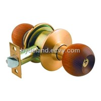 Wooden door lock   607ET/BK/PS