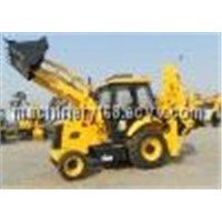 WZ30-25 Mini Used Backhoe Loader and Front Excavator