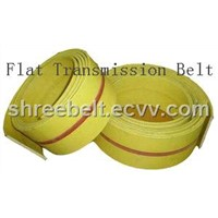 Yellow Flat  Transmission Belt