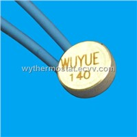 button type thermal protector for transformer and coil