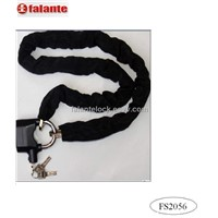 chain lock with alarm padlock