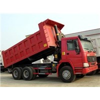 china heavy truck 300hp dump truck HOWO-A7 6x4