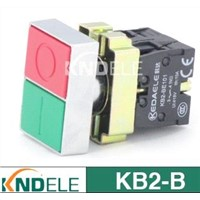 double push button waterproof switch XB2-BL