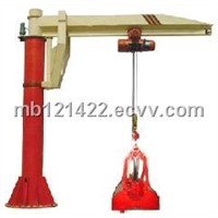 electric hoist slewing jib crane,jib crane
