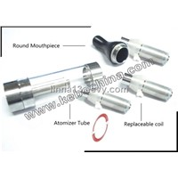 electronic cigarette ego clearomizer , replaceable coil (T2)