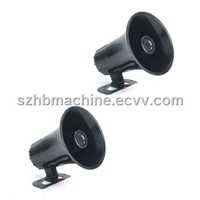 high power Electronic car horn siren alarm speaker 12v/24v