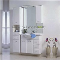 hot selling MDF Bathroom Cabinet with PVC Coating (Aidy-90A)