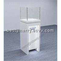 jewelry or watch tower showcase display  with led lights