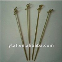 knotted bamboo picks