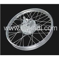 motorcycle spoke wheel