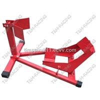 motorcycle wheel chock  stands