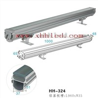 new design led wall washer light housing 24*1w IP65