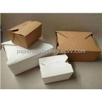 paper take away box, paper box, paper take out box