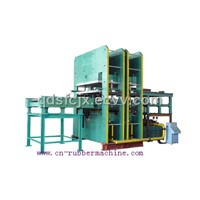 plate vulcanizing press/ China plate vulcanizing press/ Chinese plate vulcanizing press