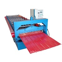 sheet metals roofing roll forming machine