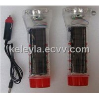 solar auto light/solar car flashlight