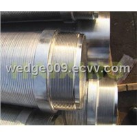 stainless steel wedge wire Johnson mesh