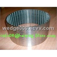 stainless steel wedge wire filter pipe