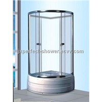 tempered glass shower doors with high tub (ZY-609)