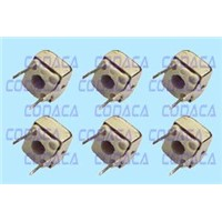 tunable coils, variable inductor, molded coils, Air core, adjustable inductor, RF inductor