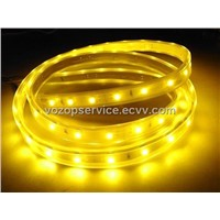 waterproof 9 LEDs/ft warm white light SMD 5050 LED strip